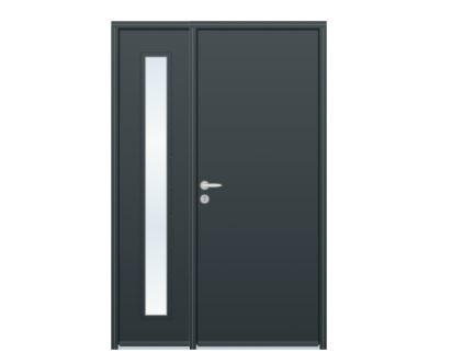 Trouver une porte d'entrée sur mesure à prix direct usine